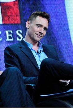Tom Hiddleston. Probably dreaming about tea