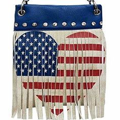 New Trending Bumbags: The Chic Bag - Rhinestone Cowgirl 4-way Bag - Fringed US Flag Heart  Crystals (Blue; 6x8x1in) - BUY 2 GET A 3rd BAG FREE!. The Chic Bag – Rhinestone Cowgirl 4-way Bag – Fringed US Flag Heart  Crystals (Blue; 6x8x1in) – BUY 2 GET A 3rd BAG FREE!  Special Offer: $39.95  444 Reviews The Chic Bag designs and manufactures innovative cross-body designer handbags releasing new and exciting...