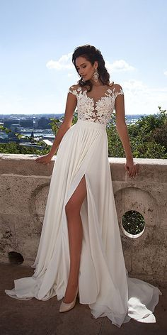 Lace Wedding Dress, Wedding Dress For Cheap, Wedding Dress Chiffon Wedding Dresses 2018 Wedding Dress Chiffon, White Lace Wedding Dress, Wedding Gowns With Sleeves, Prom Dresses With Sleeves, Applique Wedding Dress, Wedding Dresses 2018, Cheap Prom Dresses, Cheap Wedding Dress, Sexy Dresses