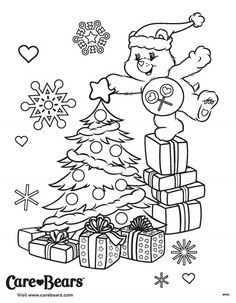 cb bear coloring pages colouring christmas coloring pages care bears business for