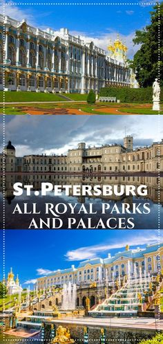 A complete guide to all royal parks and palaces around St.Petersburg (Russia) written by a local. Working hours, how to get by public transport, what to see, entrance fee, places to eat, maps, tips and many photos! Travel in Europe.