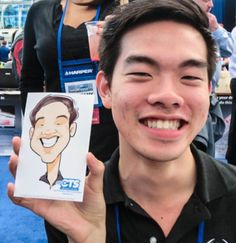 Julia earns six figures a year for drawing cartoons and caricatures like this one. Find out how Julia boosted her income from $8.50 per hour, up to $250 per hour.