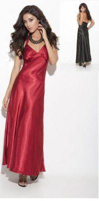 a8ae3ea0b6 Plus Size Charmeuse Satin Gowns Sleepwear Silk Chemise