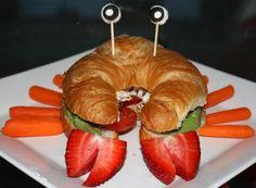 croissant crab sandwiches | Crab Crab Club Sandwich - Olympia Seafood