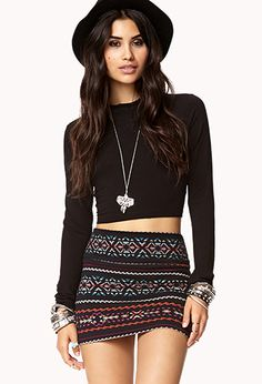 turtle neck crop top from #Forever21