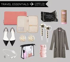 Travel Essentials   Carry On Edition