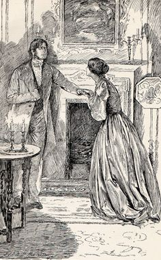 Jane Eyre illustration by John H. Bacon @A Random Person On The Internet, what think you of this?