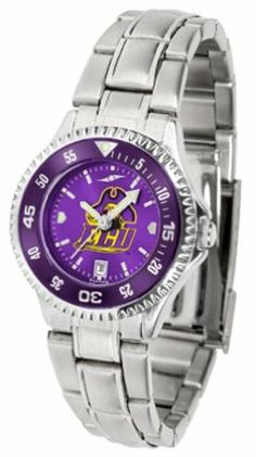East Carolina Pirates Competitor AnoChrome Ladies Watch with Steel Band and Colored Bezel by SunTime. $91.67. Showcase the hottest design in watches today! The functional rotating bezel is color-coordinated to compliment the East Carolina Pirates logo. The Competitor Steel utilizes an attractive and secure stainless steel band.The AnoChrome dial option increases the visual impact of any watch with a stunning radial reflection similar to that of the underside of a ...