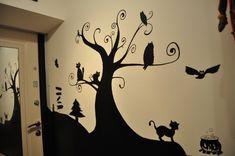 Грифельная краска и рисунок на стене (краска для школьных досок). - Дизайн интерьера - Babyblog.ru