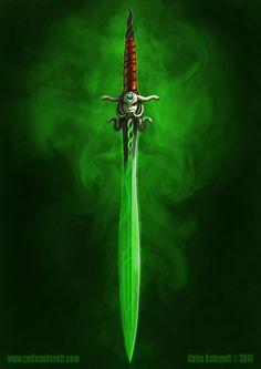 Fantasy Sword by Colin-Ashcroft on DeviantArt
