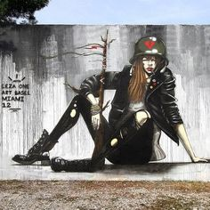 by Leza One ART BASEL2012 in Miami .