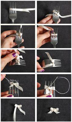 Fork bow.