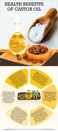 Health Benefits Of Castor Oil : Health Products For You
