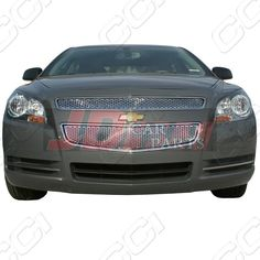 2008 2017 Chevy Malibu Ls Lt Ltz Chrome Grille Overlay Top Bottom Chevrolet