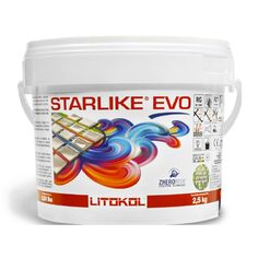 The Tile Doctor Starlike EVO 100 5.5 lbs. Bianco Assoluto-100 2.5kg-5.5lb - The Home Depot