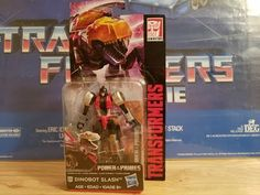 Transformers Power of the Primes Dinobot Slash Legends Figure Review