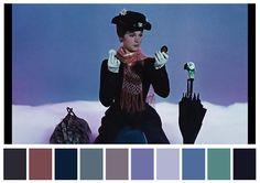 Satisfaça-se com as paletas de cores dos seus filmes favoritos