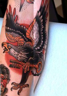 visualamor: vexred: Peter Lagergren Of course…. Phoenix Tattoo Design, Skull Tattoo Design, Dragon Tattoo Designs, Tribal Tattoo Designs, Eagle Tattoo Forearm, Eagle Tattoos, Tribal Sleeve Tattoos, Tattoos Skull, Wing Tattoos