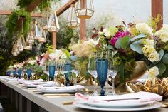 Hamptons inspired dinner party by FRANK ALEXANDER NYC