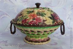 Поделка изделие Плетение заказики Бумага Трубочки бумажные фото 1