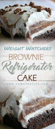 ideas for weight watchers brownies crock pot Ww Desserts, Healthy Desserts, Dessert Recipes, Healthy Recipes, Healthy Foods, Picnic Desserts, Healthy Cake, Healthy Fruits, Stay Healthy