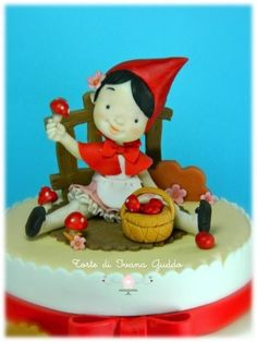 Little Red Riding Hood - Cake by ivana guddo