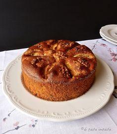 Di pasta impasta: Torta di farro e mele allo yogurt… senza burro e l...