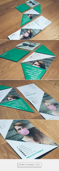 30 best Resumes for Creative Fields images on Pinterest Resume - Resume For Graphic Designer
