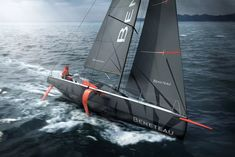 The Figaro 3 will be the first series-built production monohull with foils, a boat that will have a knock-on effect both in racing and yacht production. Yacht Design, Boat Design, Classic Sailing, Classic Yachts, Yacht Cruises, Yacht Boat, Sail Away, Made In France, Luxury Yachts