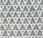 LOVE LOVE LOVE this fabric: Volpi in Navy on Tint from Quadrille