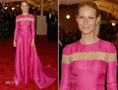 Gwyneth Paltrow In Valentino Couture – 2013 Met Gala