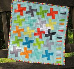 Run and Sew Quilts' QuiltCon challenge block