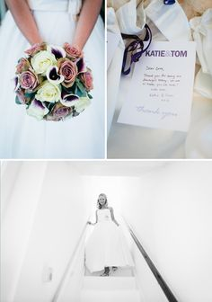 love the idea of personal notes to the wedding party