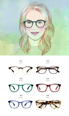 most flattering eyewear for your face shape || Verily