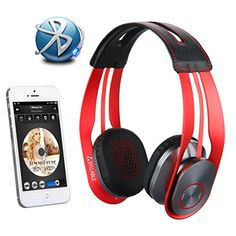 Special Offers - 2015 New Syllable G700 Wireless Bluetooth 4.0 Noise Cancellation NFC HIFI Stereo Headphone Headset with Microphone for Samsung iPhone iPad MP3/MP4 Laptop PC Tablet Smartphones and Any Device with 3.5mm Jack/Bluetooth/NFC (Red) - In stock & Free Shipping. You can save more money! Check It (July 21 2016 at 07:15AM) >> http://ift.tt/21At8Lk