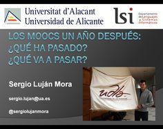 Evolución y futuro de los MOOCs #competencias TIC #moocs #Sergio Lujan