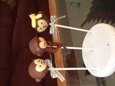 Monkeys baby shower cake pops, #monkeycakepops #monkey #babyshower