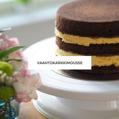 vaahtokarkkimousse Nutella, Oreo, Mousse, Cheesecake, Food And Drink, Baking, Desserts, Cakes, Tailgate Desserts