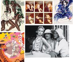 #Fashion #Vintage #W #Illustration Antonio Lopez, fashion illustrator