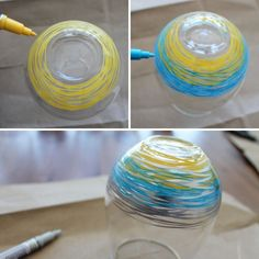 Materials: - stemless acrylic wine glasses - paint pens References from: Brit + Co Acrylic Wine Glasses, Painted Wine Glasses, Glass Painting Designs, Paint Designs, Cute Crafts, Diy And Crafts, Diys, Paint Pens, Crafty Craft