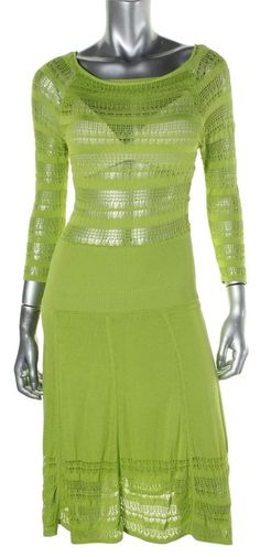 Catherine Malandrino Lime Poitelle Caual Dress. Free shipping and guaranteed authenticity on Catherine Malandrino Lime Poitelle Caual Dress at Tradesy. CATHERINE MALANDRINO 3025 NEW Womens Green Pointel...