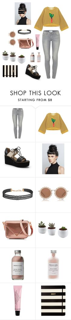 """""""Got diamonds on my time peace"""" by katniss1212 on Polyvore featuring Paige Denim, Chicnova Fashion, Lands' End, Humble Chic, House of Holland, Alexander Wang, French Girl, H&M and Kate Spade"""