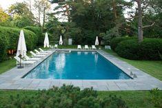 Rectangular pools surfside pools within rectangular pool ⋆ YUGTEATR Backyard Pool Landscaping, Backyard Pool Designs, Swimming Pools Backyard, Swimming Pool Designs, Lap Pools, Indoor Pools, Pool Decks, Pool Sizes Inground, Hampton Pool