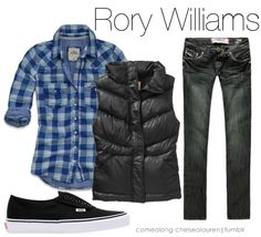 rory Williams or toss on skirt & tights and call it amy pond ;)