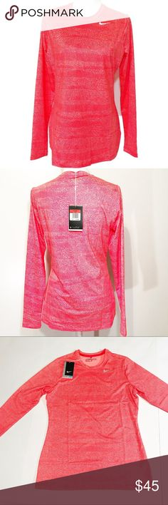 Nike Golf  Dri- Fit Long Sleeve Top. Large Beautiful and soft long sleeve Nike Golf top with Dri-Fit technology. Pulls away sweat to hep keep you dry and comfortable. UPF 40+. New with tag. Size Large. Nike Tops Tees - Long Sleeve