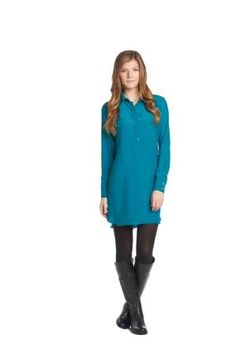 Derby Collared Shirt Dress--Britt Ryan Fall 2 2015