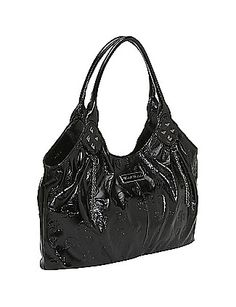 This is one of the cutest black purses I've seen in a while. $44