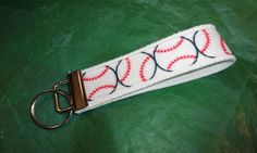 Baseball Key Fob / Key Ring by JoatmonCreations on Etsy, $6.00