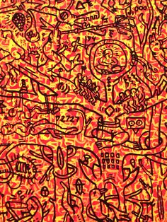 The Last Rain Forest by Keith Haring, 1989 #Installation #Art
