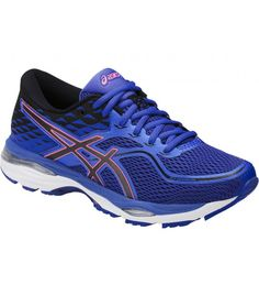 ASICS GEL CUMULUS 19 BLUE PURPLE/BLACK/FLASH CORAL